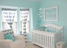 baby boy Nursery | Diary of a Fit Mommy: Nursery Ideas for Boys Chevron and Aqua