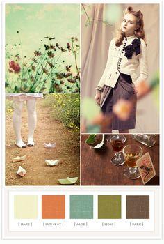 Charmaine colorboard #color color schemes vintage, brown and green color palette, brown and green color scheme, colorpalett, colors, brown colour scheme, color pallets, colour inspiration boards, vintage color scheme
