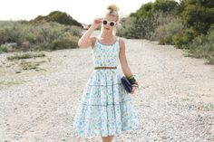 50's vintage dresses.  Found @WhenDecadesCollide on Etsy.