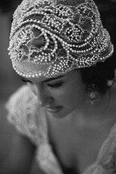 . lace, galleri, bridal headpieces, pearls, the bride, veil, wedding headpieces, downton abbey, hat
