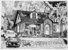 Commissioned Piece  Pencil drawing by artist, Joe Belt.