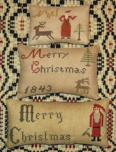 The Humble Stitcher- Christmas finishes