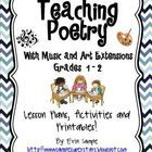 Have you been looking for ways to meet the 1st and 2nd grade Common Core standard RL.4? Not only will you meet this standard with this unit, you w... teaching poetry, poetri station, 2nd grade