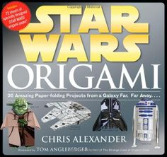 Star Wars Origami: 36 Amazing Paper-folding Projects from a Galaxy Far, Far Away…. and see more origami for beginners at http://pinterest.com/sulias/origami-for-beginners/