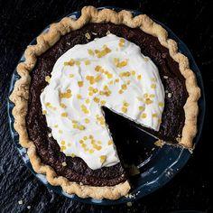 Chocolate Ginger Chess Pie | SAVEUR
