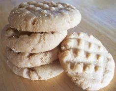 Impossible Peanut Butter Cookies/made w half sugar, half brown sugar