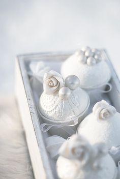 Rose Pearl Cupcakes by Call Me Cupcake.