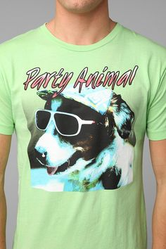 Party Animal Tee #urbanoutfitters
