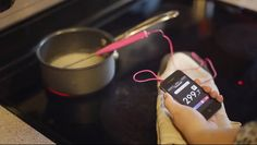 A new 'smart thermometer' for the kitchen. What?!?!