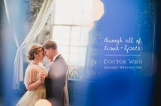 Doctor Who themed wedding.