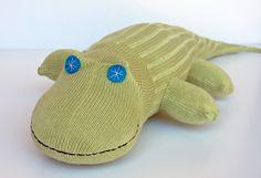 "Such a cute idea! Nursery of ""sock animals"""