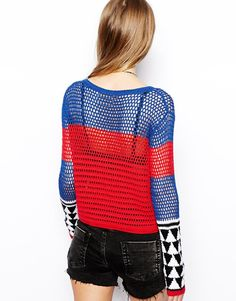 The back is cute too! And I like how the pattern on the forearm is like a built-in accessory (ASOS)