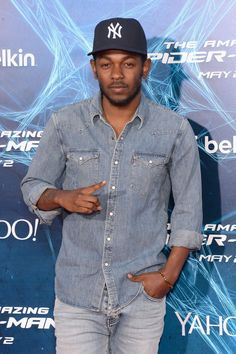 Compton native Kendrick Lamar shows New York some California love at the premiere of The Amazing Spider-Man 2 on April 24, 2014 at  Skylight at Moynihan Station, NYC. Check out other Celebs Spotted at Skylight at Moynihan Station! http://celebhotspots.com/hotspot/?hotspotid=30364&next=1