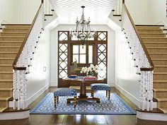 Great double staircase