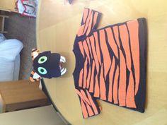 DIY Tiger Costume