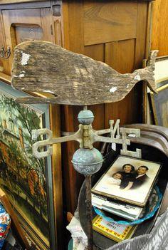 Old weathered vane
