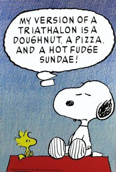 Snoopy knows whats up