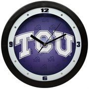 TCU Horned Frogs Dimension Team Logo Wall Clock