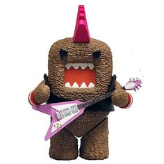 Domo Action Figure Series 01   Punk Rocker Domo: Toys
