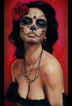 Isabella Muerta - Canvas Giclee