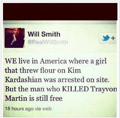 so true...we need justice for #trayvon