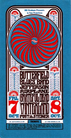 Butterfield Blues Band - Jefferson Airplane - Grateful Dead
