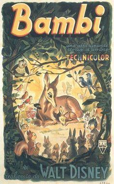 """Bambi"" original movie poster"