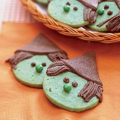 Halloween desserts: Witchy Cookies recipe