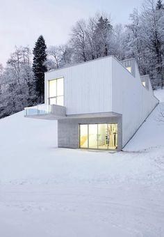 Albert Oehlen's studio, Bühler, Switzerland by Ábalos+Sentkiewicz