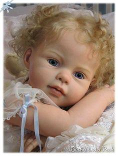 PROTOTYPE Reborn baby girl doll, Louisa, Jannie de Lange Toddler | eBay