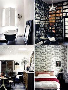 grey & black color scheme
