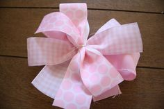 Easiest Way to Make A Hair Bow