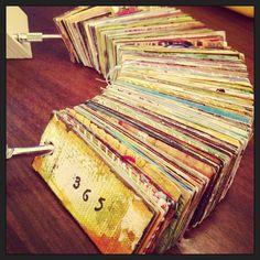 Little art journalling ideas