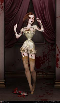 The Butcher's Bride by Rebeca Puebla #art