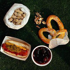 Ballpark Foods Breakdown