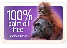 Beauty and the Bees is 100% Palm Oil Free!
