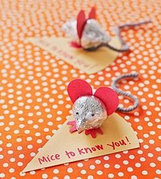 Mice Kiss Valentines from Parents