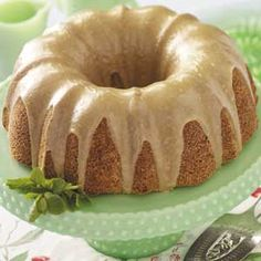 Buttermilk Cake with Caramel Icing Recipe from Taste of Home -- shared by Anna Jean Allen of West Liberty, Kentucky