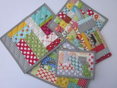 Scrappy Trivets and Potholders