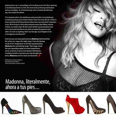 #Madonna literalmente a tus pies... Truth or Dare #shoes by Madonna