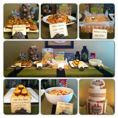 Food for a sheep themed baby shower!