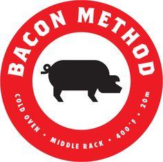Make perfect, crispy bacon every time   Bacon Method