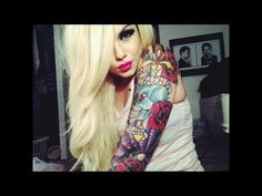 Sexy, Hot Tattooed Women