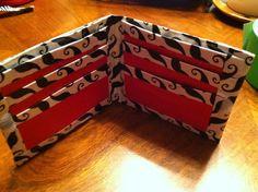 Beautiful duck tape wallet