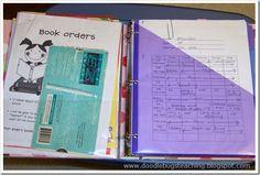 Classroom organization ideas...great website!