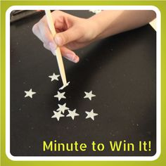 Minute to Win It! {Star Stealer}
