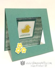 Stampin up baby card ideas