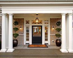 the doors, entry doors, front entrances, door design, front doors, curb appeal, hous, front entry, front porches