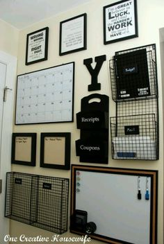 Office Organization: Everything has its place.