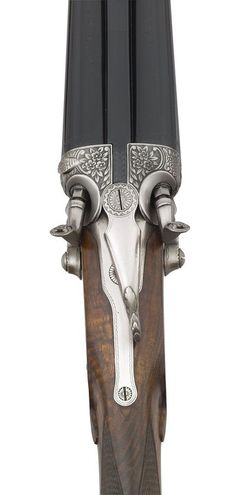 Hammer double-barrel shotgun